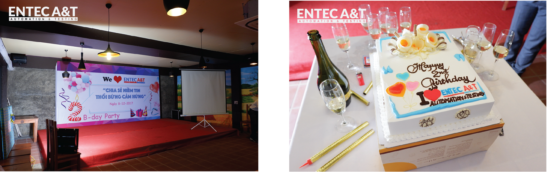 ENTEC A&T Celebrates the 2nd Birthday Anniversary - ENTEC A&T
